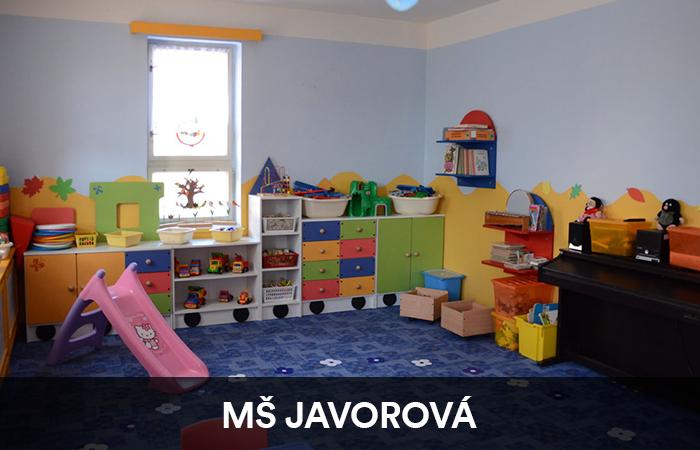Mateřská školka Javorová