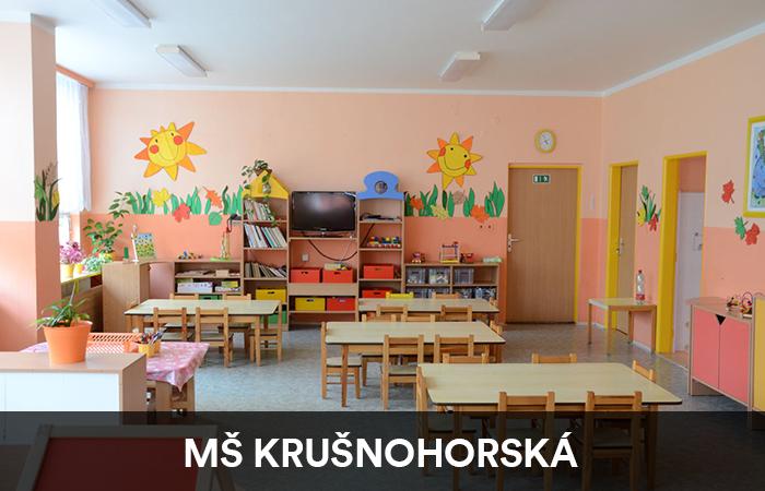 Mateřská školka Krušnohorská