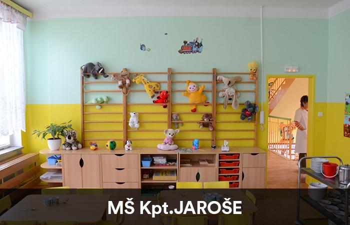Mateřská školka Kpt. Jaroše